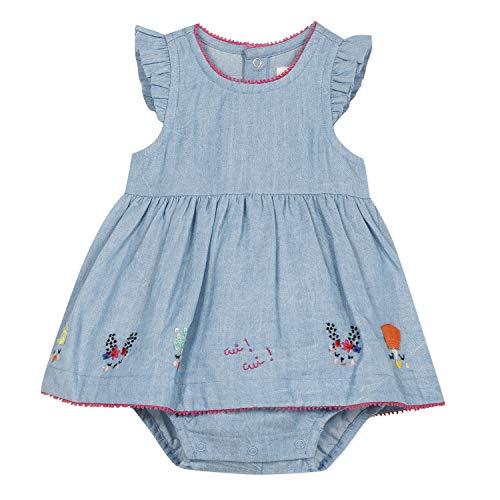Catimini Cq33041 Combi Courte Conjunto, Azul (Indigo 46), 6-9 Meses (Talla del Fabricante: 6M) para Bebés