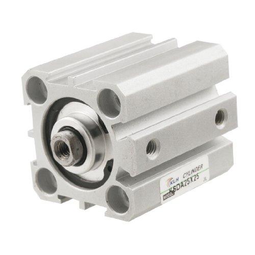 SDA 25 x 25 mm de perforación 25 mm motores de acción dual de aire pequeño cilindro neumático cilindro de