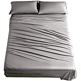 Best Bamboo Sheets - SAKIAO 100% Bamboo King Size Bed Sheets Set Review