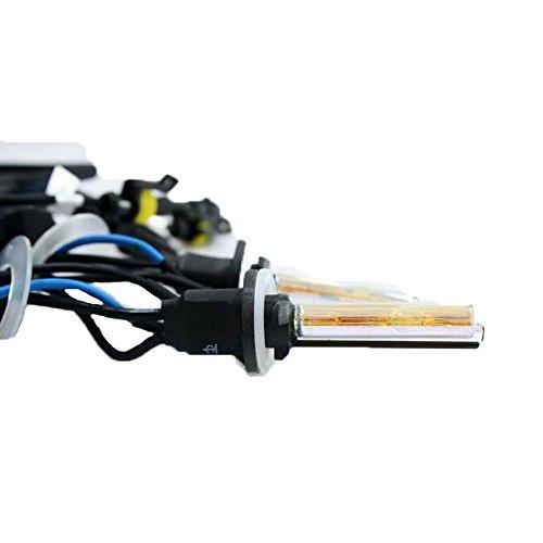 Boomboost New Car Xenon HID Ampoule une paire de xénon HID lampe 880 600 K