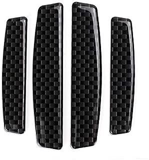 choolo Car Bumper Guard Strips Rubber Anti-Scratch for Car SUV Pickup Truck Car Bumper Protector, 4 Packs(Black)