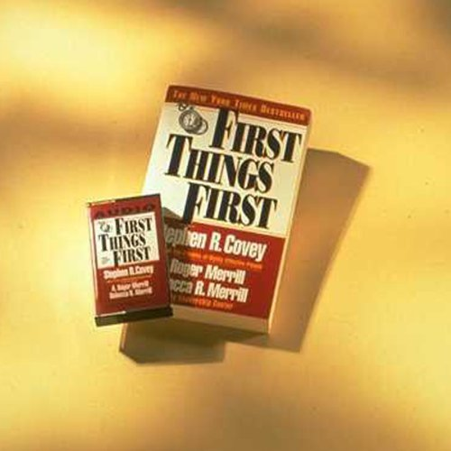 First Things First audiobook cover art