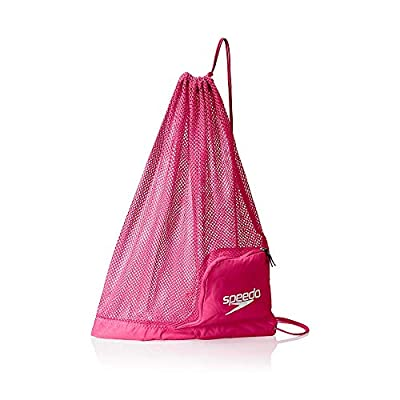 Speedo Ventilator Mesh Equipment Bag, Fuchsia Purple