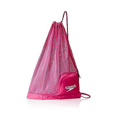 Speedo Ventilator Mesh Equipment Bag, Fuchsia Purple