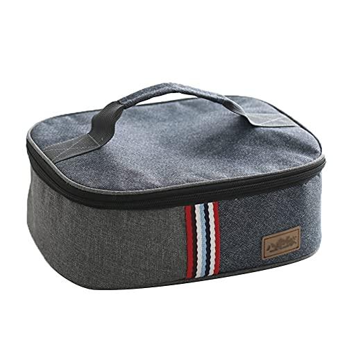 KFJHD Borsa di isolamento,a freddo sacchetto di immagazzinaggio,in tessuto Oxford di alluminio pranzo al sacco,ispessita pranzo al sacco,Lunch Box Bag,adatto ad esterno/campeggio/barbecue/viaggio