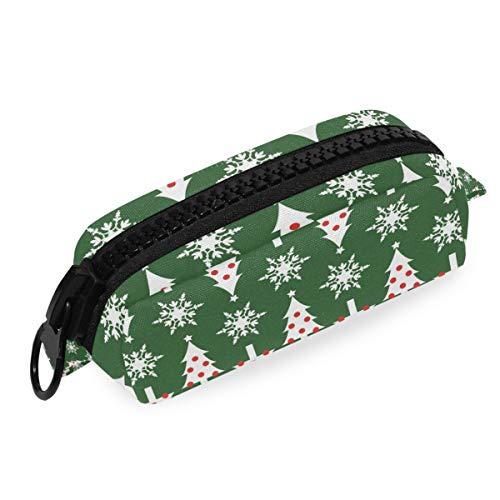 Big Zipper Pouch Bag Pen School Bulk Pencil Case Árbol de Navidad...