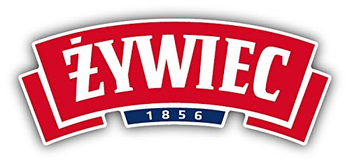 SkyBug Zywiec 1856 Pools Bier Rood Logo Bumper Sticker Vinyl Art Decal voor Auto Truck Van Window Bike Laptop