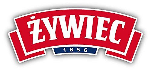SkyBug Zywiec 1856 Pools Bier Rood Logo Bumper Sticker Vinyl Art Decal voor Auto Truck Van Wandraam (30 X 16 cm)