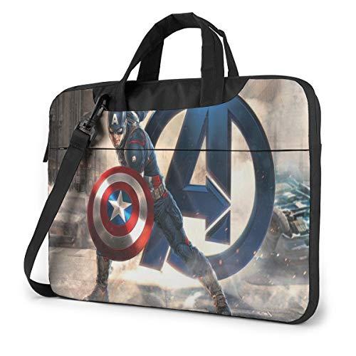 Superhero Avenger Laptop Sleeve Laptop Bag Tablet Briefcase Ultraportable Protective Handbag Oxford Cloth-for MacBook Pro/MacBook Air/Notebook Computer 13 Inch