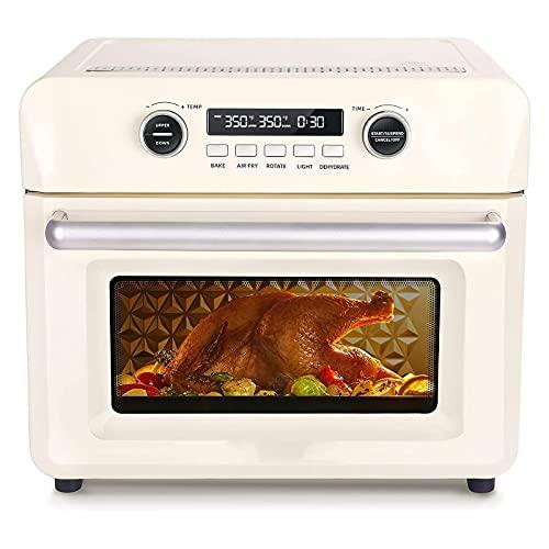 Horno de Aire Libre, Horno Tostador de encimera, deshidratador Digital, Cocina precisa de Control de Temperatura, para freír, Hornear, Parrilla, fermento