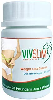VivSlim 30 Capsules Lose up to 25 Pounds in Just 4 Weeks!