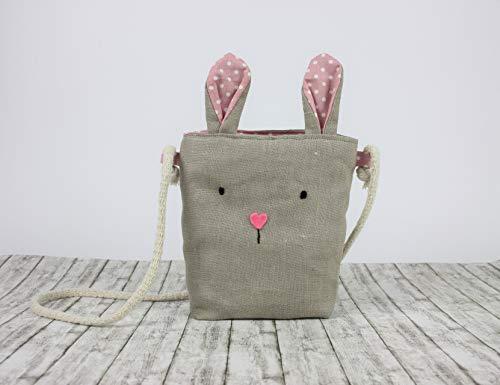 Umhängetaschen Hase für Kinder, Kindertasche Hase, Handtaschen für Mädchen, Kindergeschenk