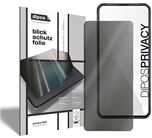 dipos I Protezione Vista Compatibile con ASUS Zenfone 8 Flip Pellicola Prottetiva Privacy 2 Modi