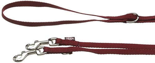 TX-20130 Premium Adjustable Leash XS: 2.00 m/10 mm, Bordeaux