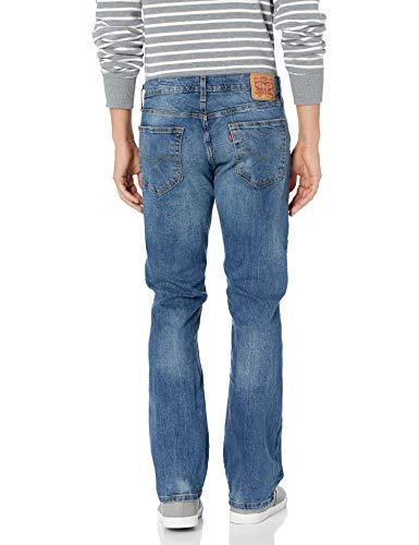 Levi's Men's 527 Slim Bootcut Jean, Black Stone, 32W x 34L