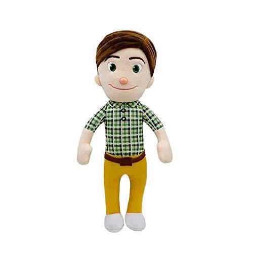 YSYSPUJ Mjuk leksak 15–33 cm plyschleksak tecknad tv-serie familj syster bror mamma och pappa leksak dall barn jul gåva (färg: F)