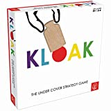 Roo Games Kloak - Strategy Board Game for Kids and Adults - for Ages 8+ - Kloak and Unkloak to Get Three in A Row