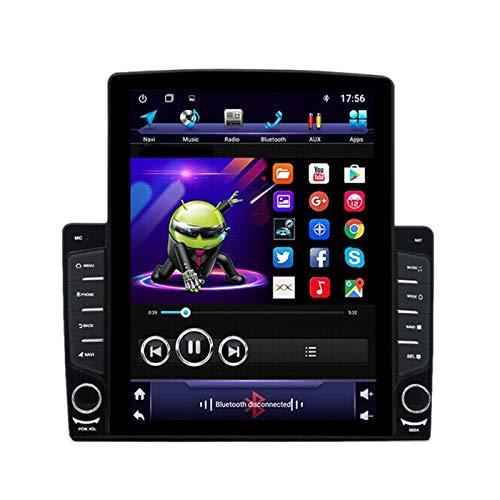 Nrpfell 9,7 Zoll Vertikaler Bildschirm 1Din Quad Kern Android 9,1 HD 2,5D 2Gb + 32Gb Auto Mp5 Spieler Bt Stereo FM Radio GPS Navigation