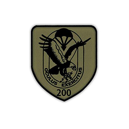 Copytec Patch/Aufnäher - FSK 200 Fernspähkompanie 200 Bundeswehr Wappen Abzeichen #18614