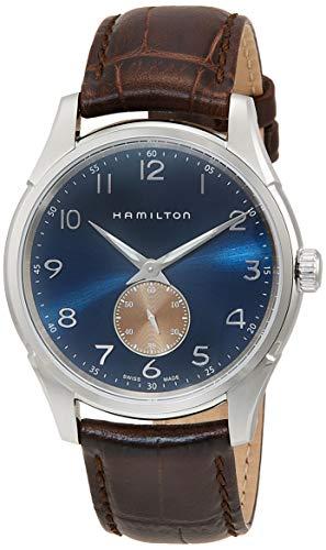 Hamilton Jazzmaster Thinline Quartz Blue Dial Men's Watch H38411540