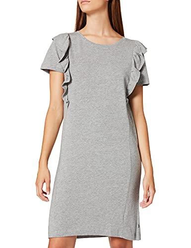 edc by Esprit 071CC1E308 Vestido, 039/Medium Grey 5, XL para Mujer