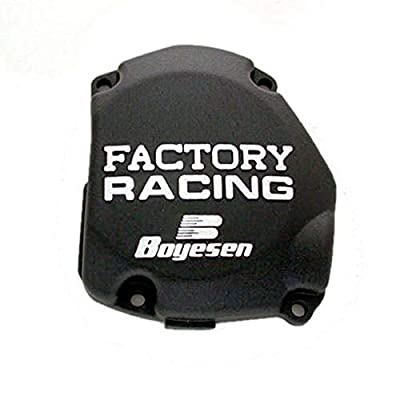 Factory Ignition Cover - Black 1998-2007 Suzuki RM125 Offroad Motorcycle