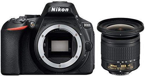 'Nikon d5600Kit Incluye AF de p DX NIKKOR 10–20mm 1: 4.5–5.6G VR Negro