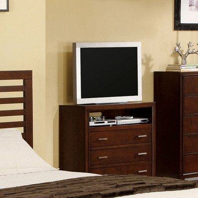 Furniture of America TV stand, Brown Cherry