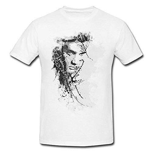 Elvis-Presley-(2) T-Shirt Frauen, Mädchen mit stylischen Motiv von Paul Sinus