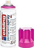 Edding 5200-909 Spray de Pintura acrílica, Magenta Mate, 200 ml (Paquete de 1)