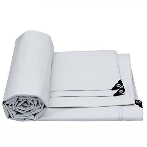 Xi Man Shop talla grande lona alquitranada cubierta impermeable Lona resistente/cubierta proteccion solar  PE blanco (Size : 3*2m)