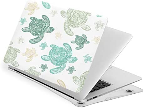 Green Sea Turtles Heart Design Patterned MacBook Air 13 Inch Case 2020 2019 2018 New Version product image