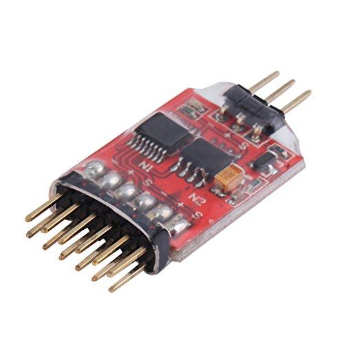 siwetg 5.8G Unidad de Interruptor de Video de 3 vías del módulo de conmutador de Video de 3 Canales para cámara FPV Nuevo