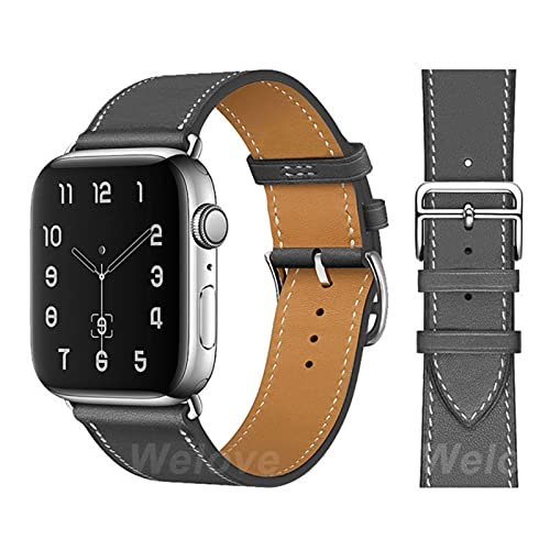 Bucle de cuero PU colorido para Apple Watch Band Series SE 6 Sport Bracelet 42 mm 38 mm Correa para iwatch 4/5 3 2 1 Band 40 mm 44 mm