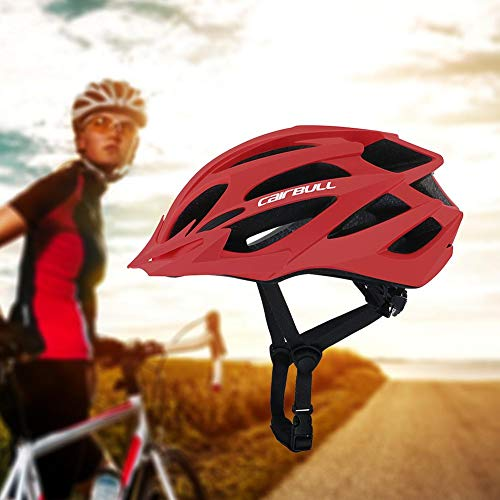 Fahrradhelme Für Erwachsene Cairbull X-Tracer Herren Fahrradhelme Für Damen Matte VICTGOAL Hintergrundbeleuchtung Mountain Road Bike Voll Geformte Fahrradhelme Geschenk Für Männer Frauen