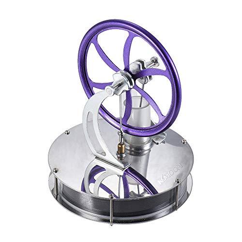 KKmoon Stirlingmotor Niedrigen Temperatur Stirlingmotor Motor Modell Heizdampf Bildung spielzeug DIY Kit