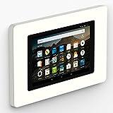 VidaMount On-Wall Tablet Mount - Amazon Fire HD8 7th / 8th Gen - White (2017-18)