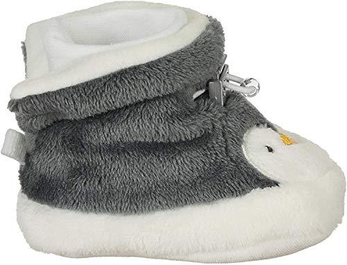 Sterntaler Baby-Schuh, Jungen Krabbelschuhe, Grau (Eisengrau 577), 15/16 EU