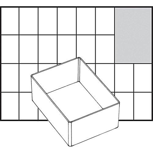 Boîte à insert, taille 109 x 79 mm, type A7-1, 1 pièce.