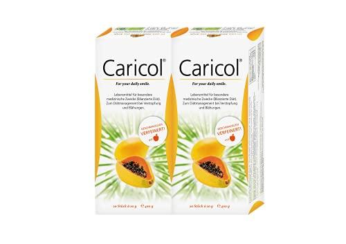 INSTITUT ALLERGOSAN Deutschland (privat) Caricol Doppelpackung, 2x20 Sticks, 800 g