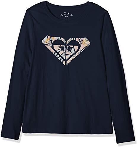 Roxy Gradual Awakening T-Shirt Fille Bleu (Dress Blues BTK0) 10 Ans (Taille Fabricant: 10/M)