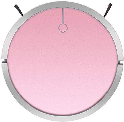 NO BRAND Limpieza de los hogares del Robot, Aspirador automático de Barrido del Robot Inteligente, Limpiador Multifuncional Negro (Color: Negro) (Color: Azul) (Color : Pink)