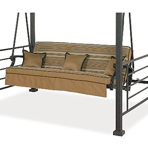 Garden Winds Replacement Cushion for The Sonoma Swing