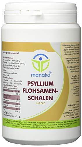 manako ® prebiotic Psyllium Flohsamenschalen ganz, 250 g Dose (1 x 0,25 kg)