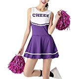 Daytwork Performance Tanzen Kostüm Mädchen - Damen High School Musical Cheerleading Uniform Sport...