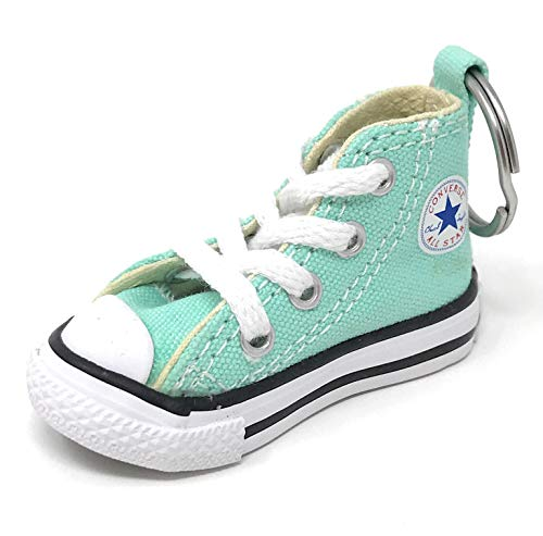 Converse Key Chain All Star Chuck Taylor Sneaker Keychain Authentic, Mint/White, One Size