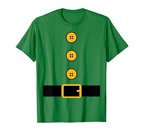 Disfraz de elfo navideo Familia a juego Camiseta