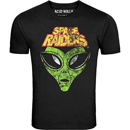 Unisex Space Raiders 80s Snack T-shirt, S to 4XL