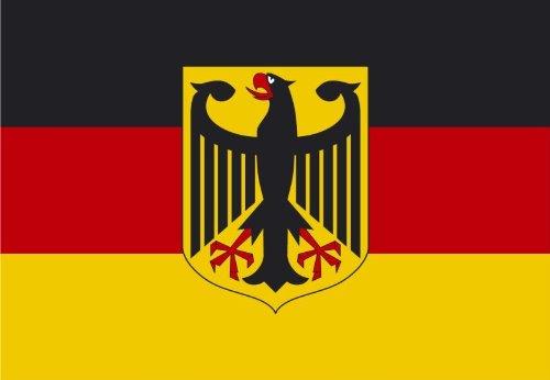 Fahne/Flagge Deutschland mit Adler NEU 150 x 250 cm