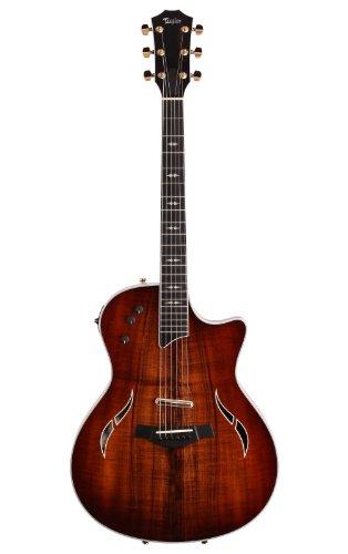 Taylor T5C2 T5 Custom, Koa Top, Artist Inlays, Gold Hardware エレキギター エレクトリックギター (並行輸入)